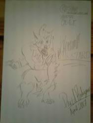 Werewolf Mustard Sketch  by PenDoodles0320