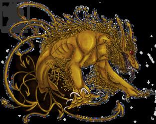 Gilded Demon by DemonML