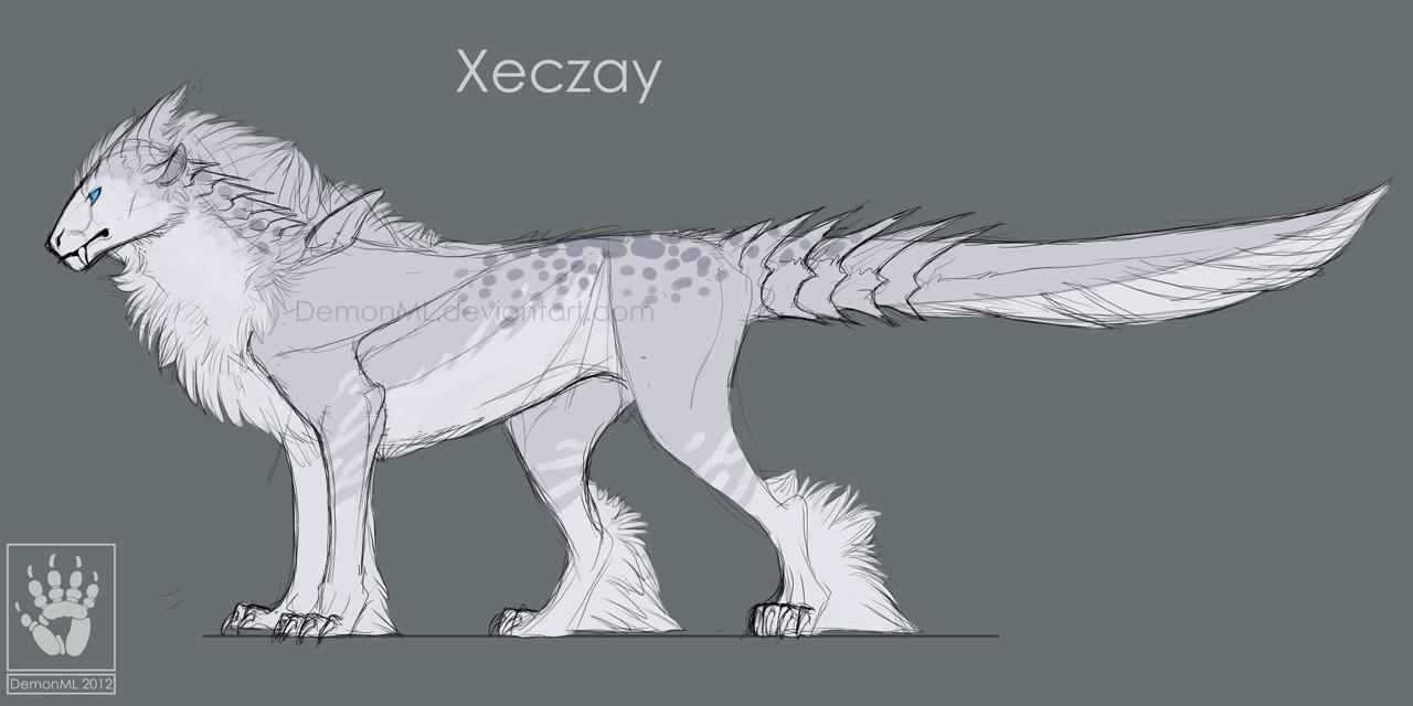 Xeczay Ref by DemonML