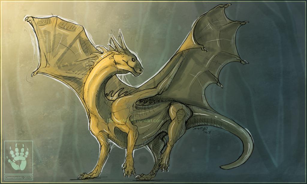 Dancing Dragon by DemonML