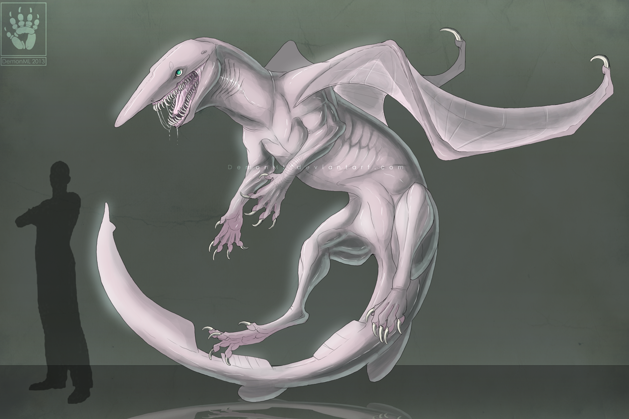 Goblin Shark Dragon by DemonML on DeviantArt