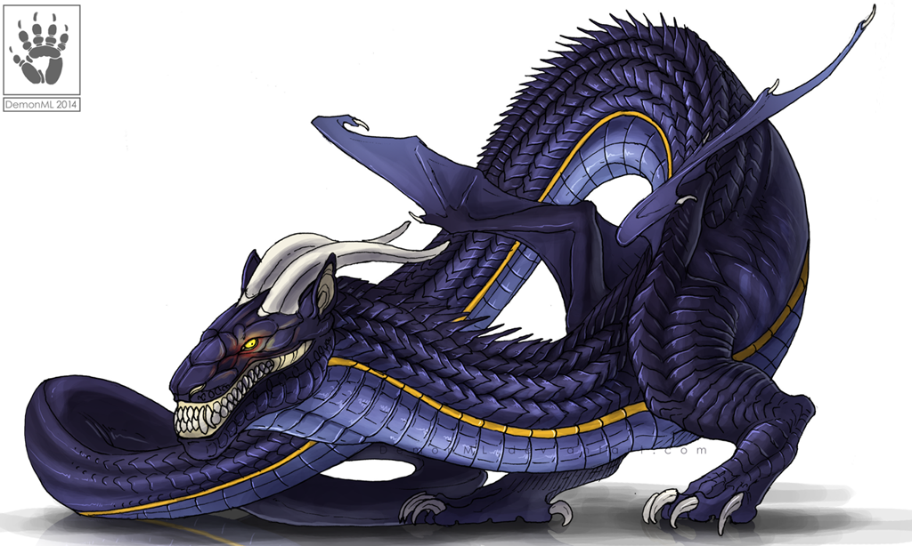 Rough-backed Lindworm by DemonML on DeviantArt