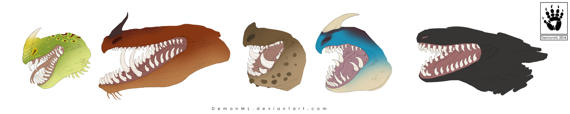 HTTYD: Chompers by DemonML
