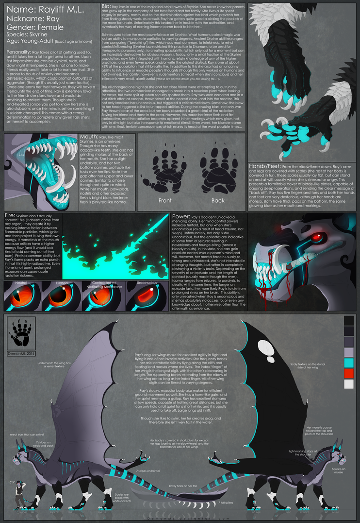 Rayliff V4.5 Reference Sheet by DemonML