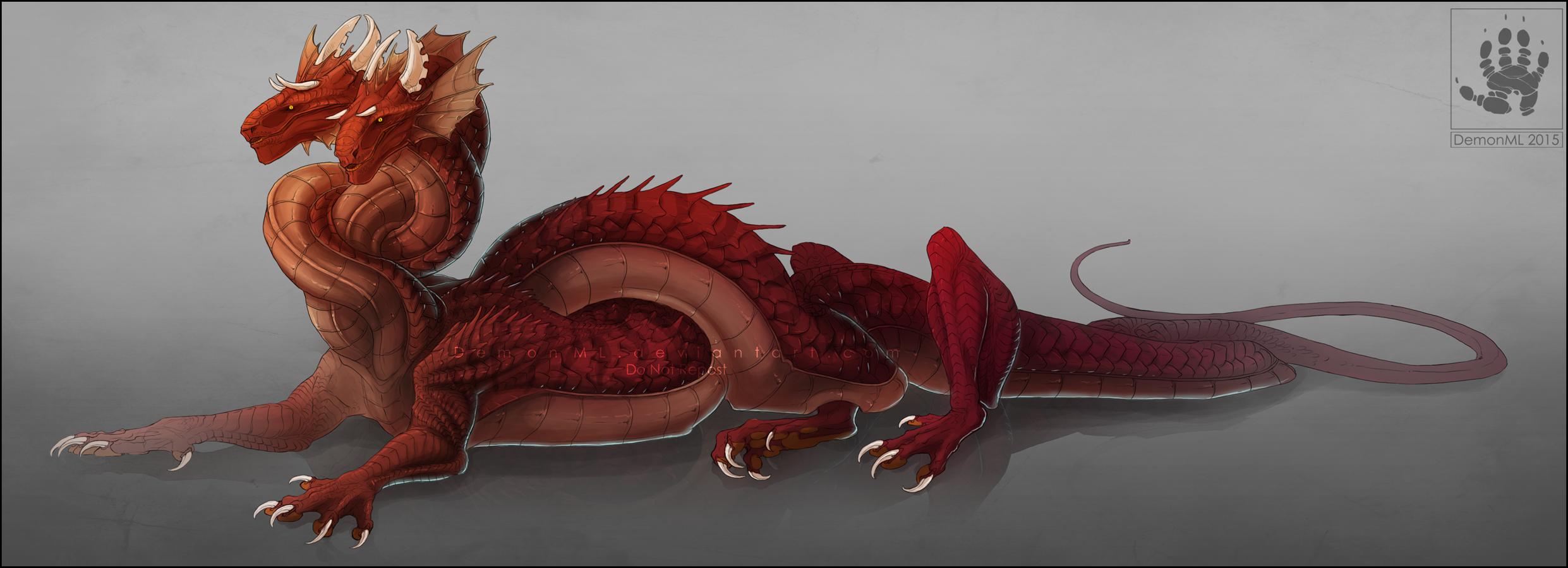 Hydra Dragon Pokemon Hydra Knot By Demonml Dcism