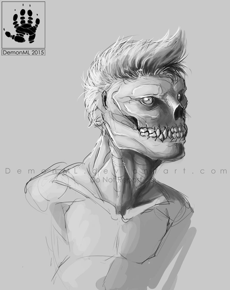 Skullguy by DemonML