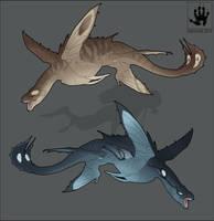 Sea Swifts by DemonML