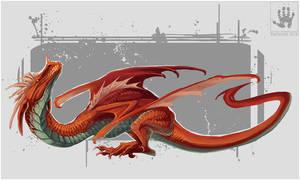 RedWyvern by DemonML