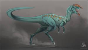 Dinovember: Dilophosaurus