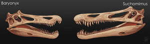 Baryonyx vs Suchomimus
