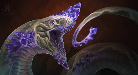 Amethyst Dragon by DemonML