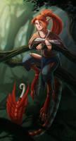 Shin in a Tree by DemonML