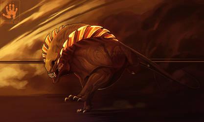 Charging Beast by DemonML