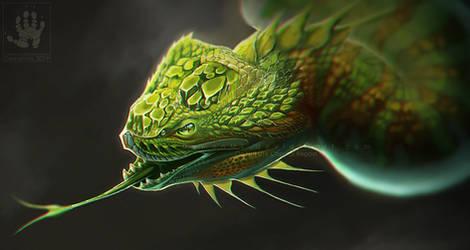 Peridot Dragon