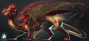 Garnet Dragon Fullbody