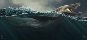 NOTDinovember: Magical Liopleurodon