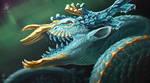Topaz Dragon by DemonML