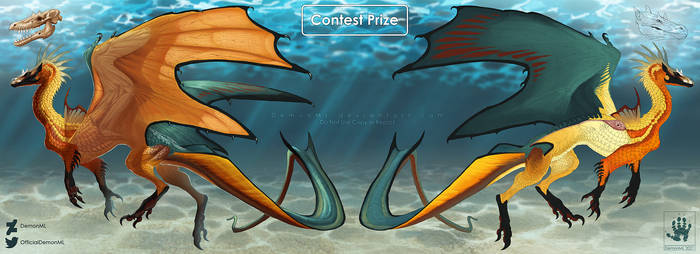 Lemon Peel Dragon [Contest Prize]