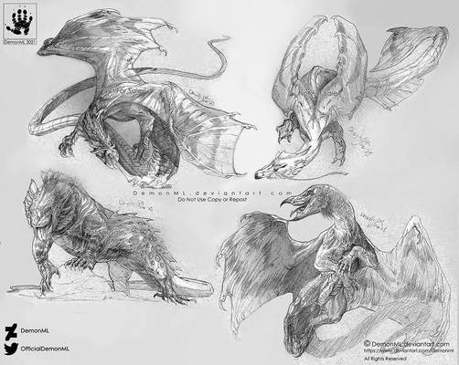 Toned Dragons