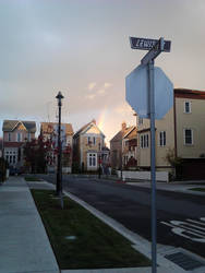 Rainbow on Lewis St. by HashtagJeric