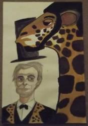 Agiraffe Lincoln by HashtagJeric