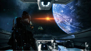 Warframe: Excalibur in Space