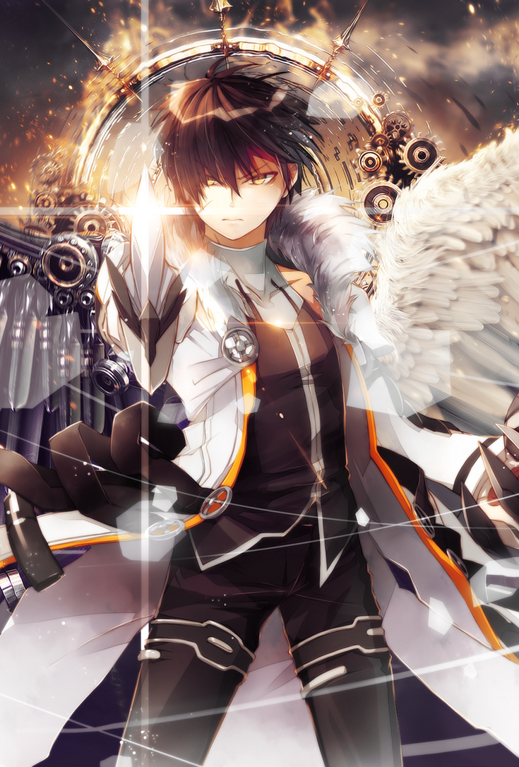 Elsword Raven Wallpaper for ios7 by Effex-Graphics on ...