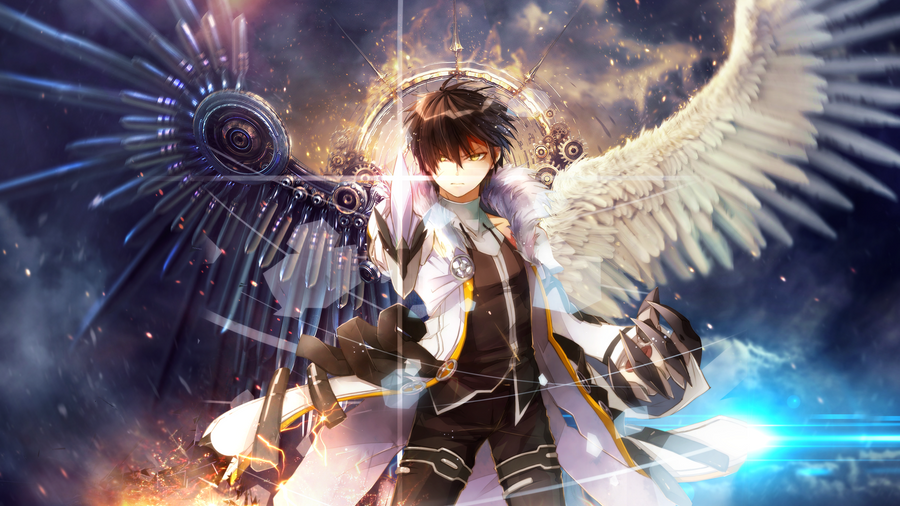 Elsword raven wallpaper by effex graphics on deviantart elsword raven wallpaper by effex graphics voltagebd