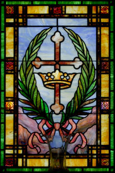 Mausoleum - Cross and Crown