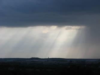 more beams n rain by Naiyion