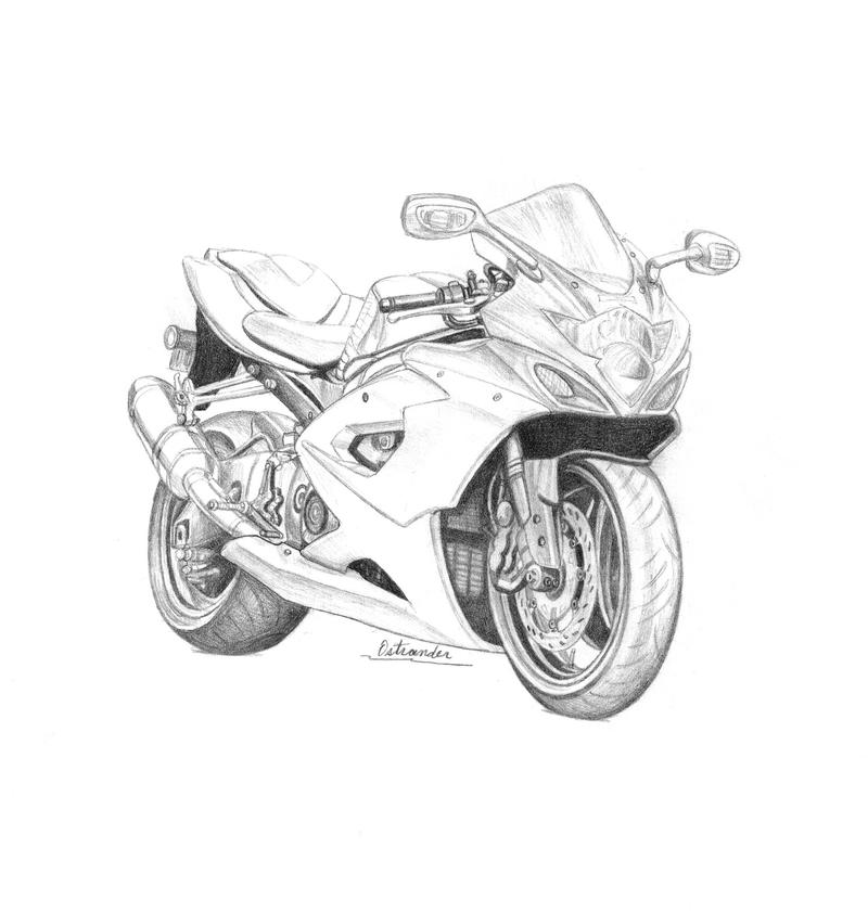 crotch rocket coloring pages - photo#1