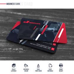 Business Card Template by loungedesign