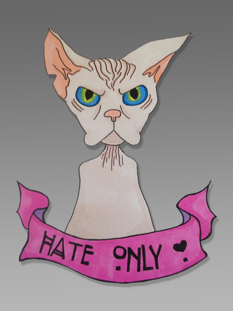 Hate Only by se7endipity