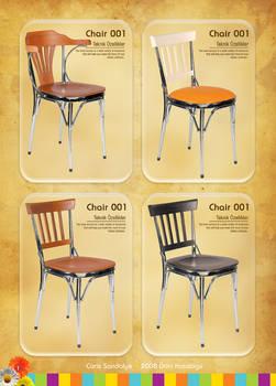 Caris Sandalye 1