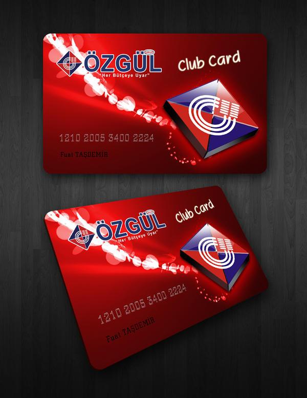 Ozgul Club Card by SencerBugrahan