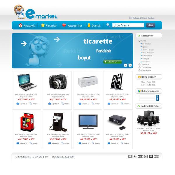 e-ticaret by SencerBugrahan
