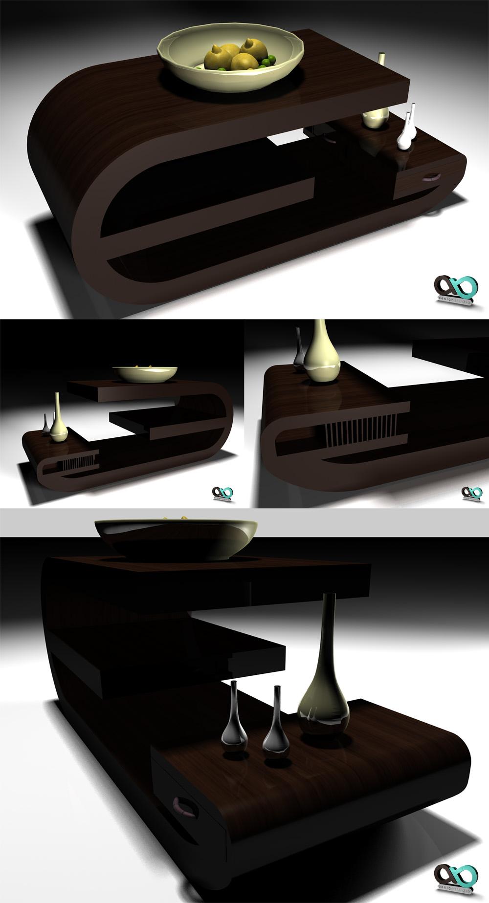 3D Sehpa by SencerBugrahan