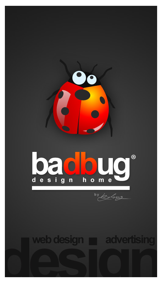 Bad Bug Design Home by SencerBugrahan High Quality Clear & Concise Logo Designs: Taken From DeviantART