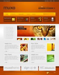 Muxo Joomla Theme by SencerBugrahan