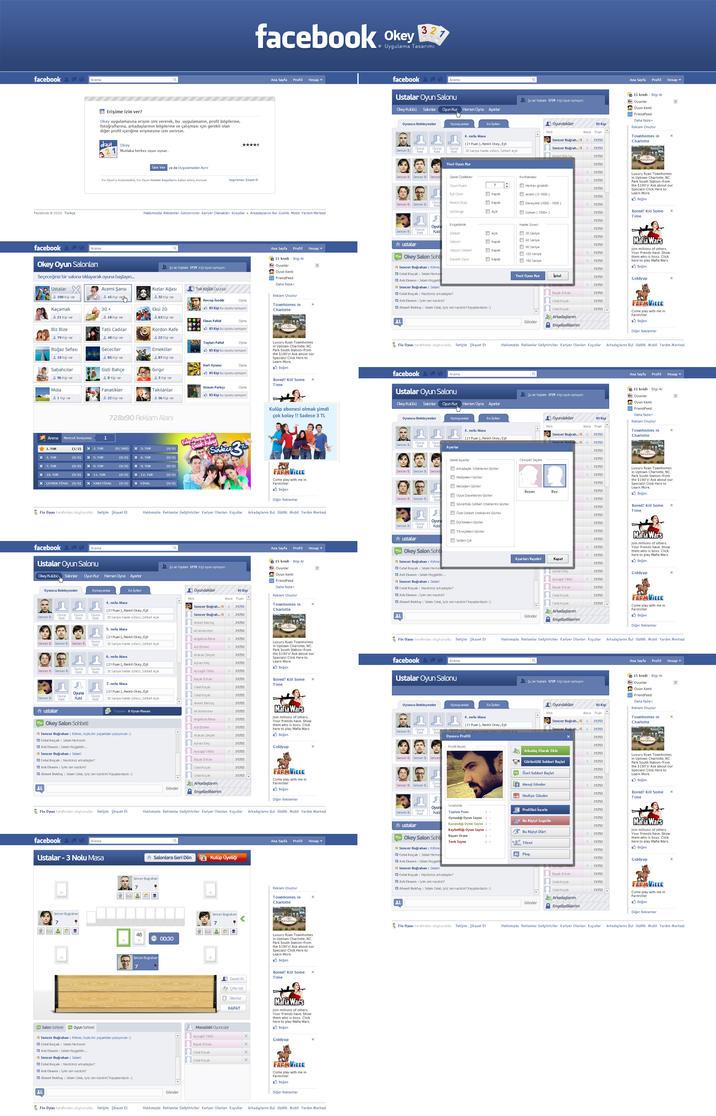 Facebook Okey App by SencerBugrahan