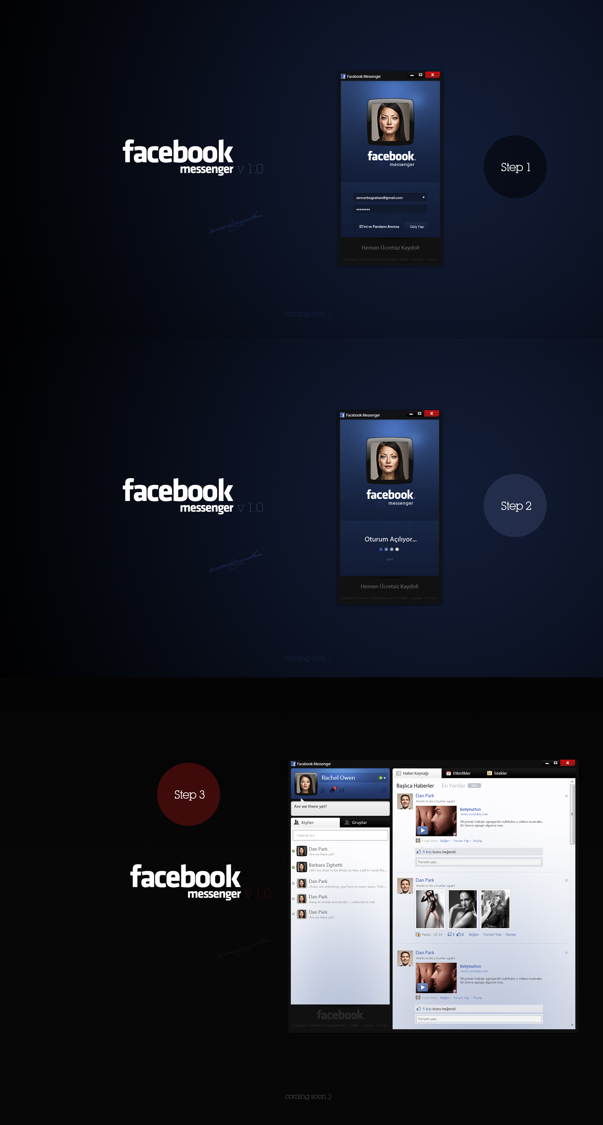 Facebook Messenger by SencerBugrahan