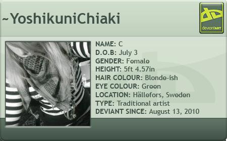 YoshikuniChiaki's Profile Picture