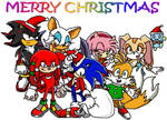 Christmas Sonic Picture