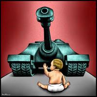 No More War by BenHeine