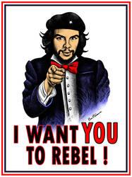 Che Guevara's Message by BenHeine