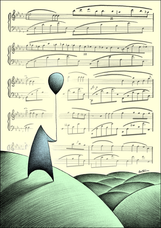 Life's Melody by BenHeine