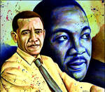Obama - Luther King