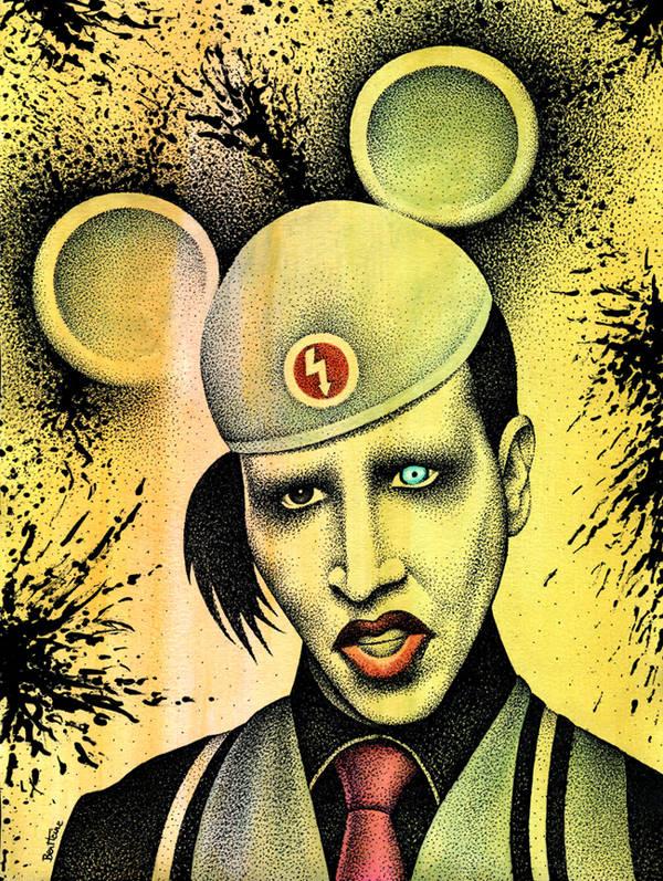 Marilyn Manson  - 2 - by BenHeine