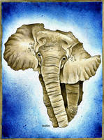 African Continent by BenHeine