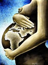 Mother Africa by BenHeine